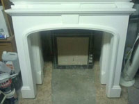 Camelot plaster fire surround