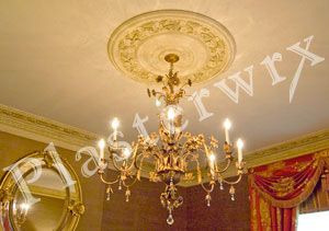 CC23 custom large ceiling rose installation