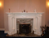 Large Grand Wentworth Plaster Fire Surround