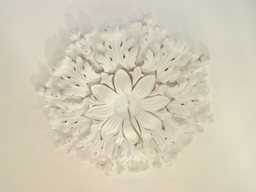Multi section traditional restoration plaster ceiling roses