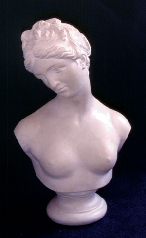 Plaster Bust Woman