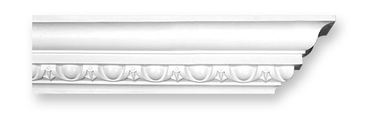 CO3 Large Egg and Dart Plaster Cornice