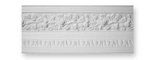 CO58 Rose & Lilly Plaster Cornice